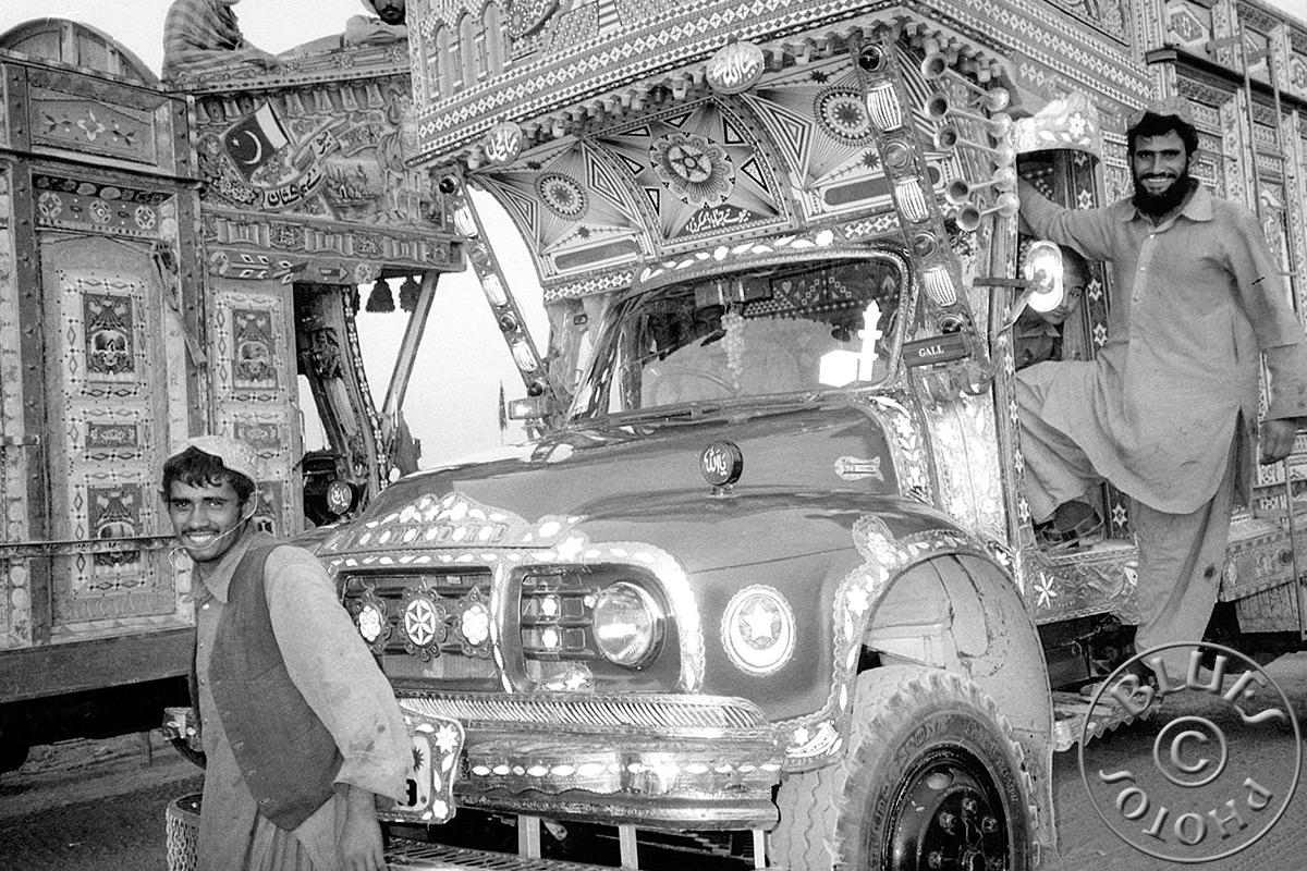 Pakistan - Des camionneurs bien sympathiques