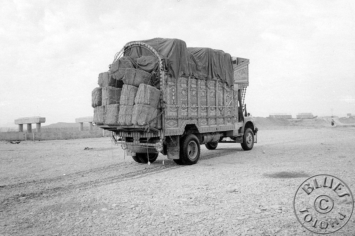 Pakistan - Camion, transport de foin