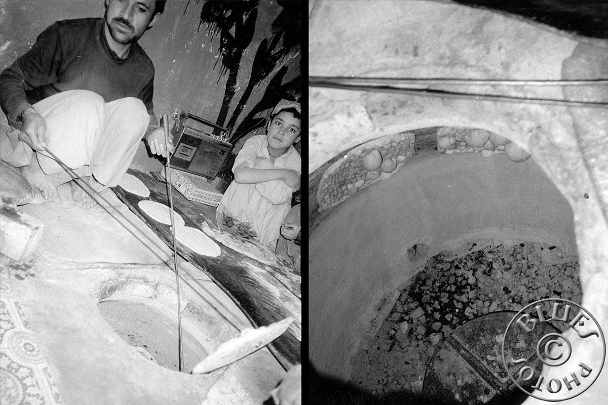 Pakistan - Une boulangerie à Quetta