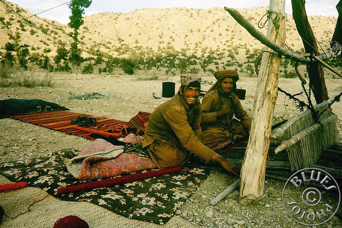 Pakistan - Tissage de tapis