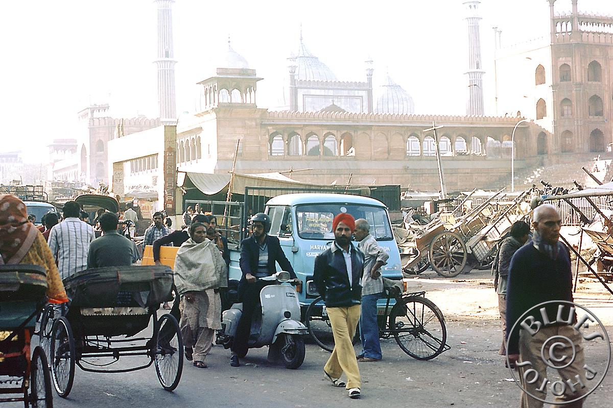 Indes - Old Delhi : scène de rue