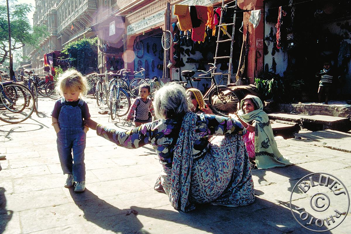 Jaipur, Julie fait la moue