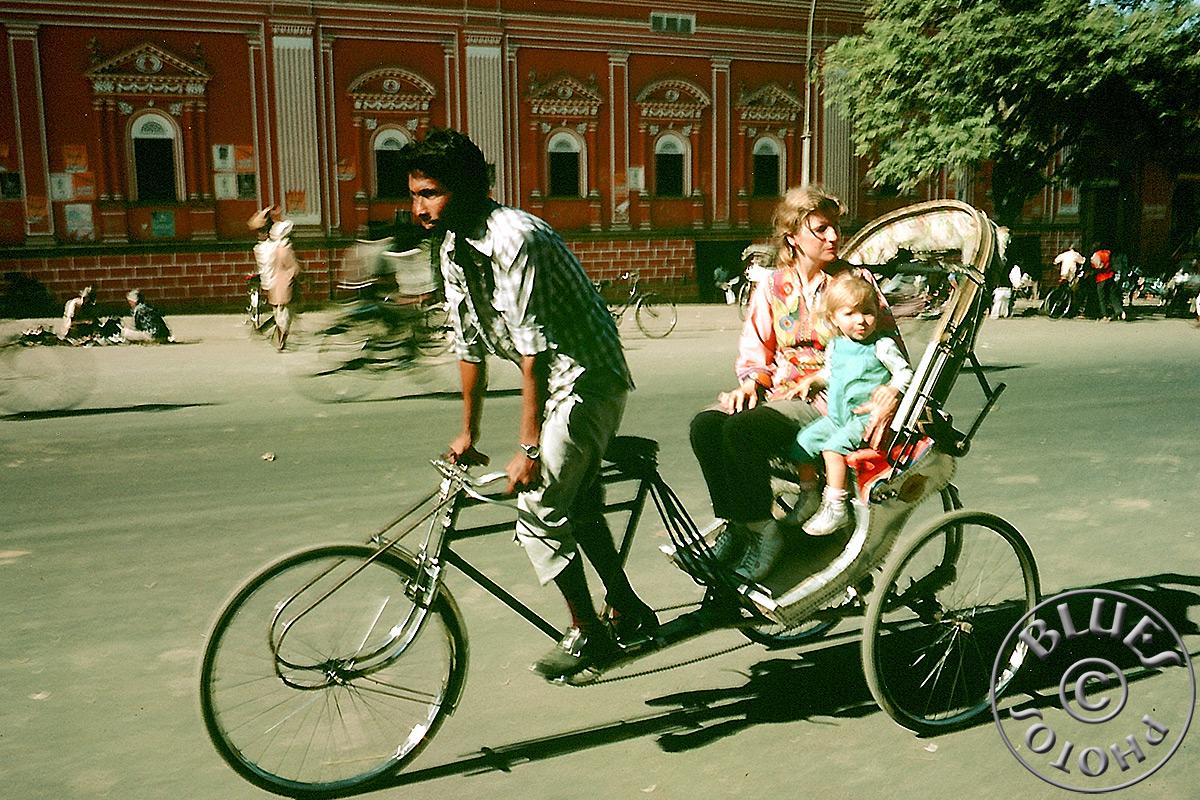Jaipur, Julie et Christiane en rickshaw