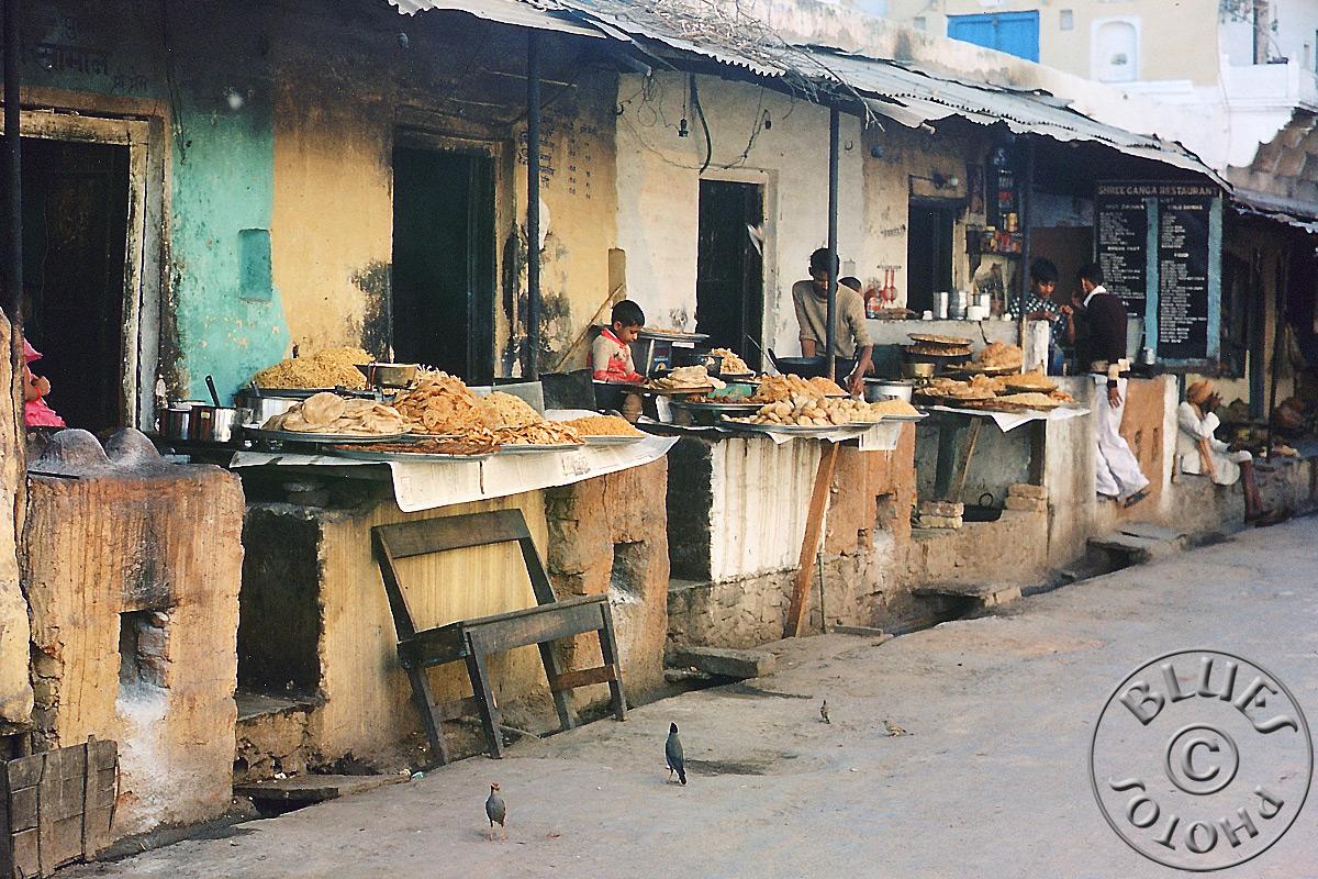 Rajasthan - Shops-Restos indiens typique