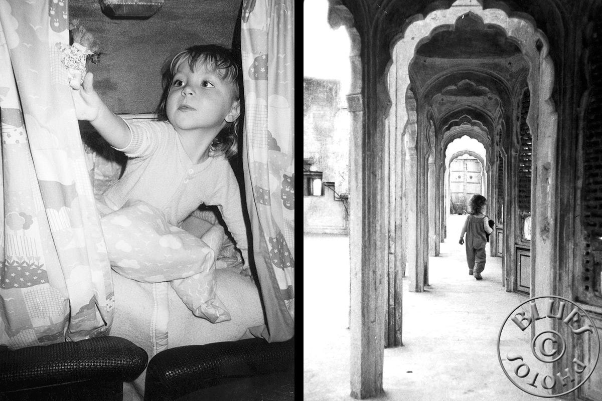 Rajasthan - Julie à Pushkar