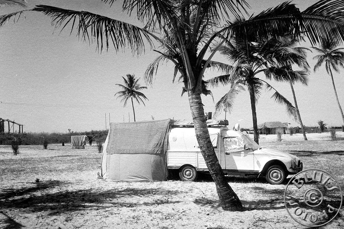 Goa - La 2CV se repose à Benaulim (et nous aussi)