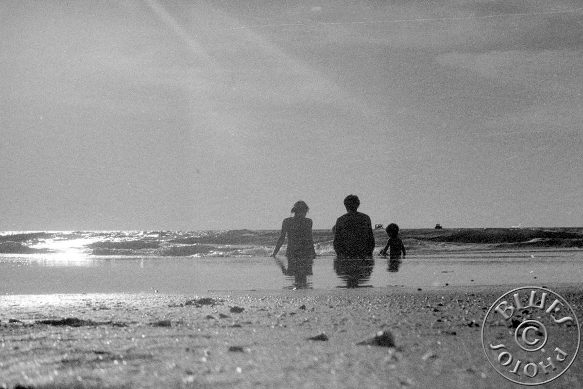 Goa - La famille Chablues à la playa