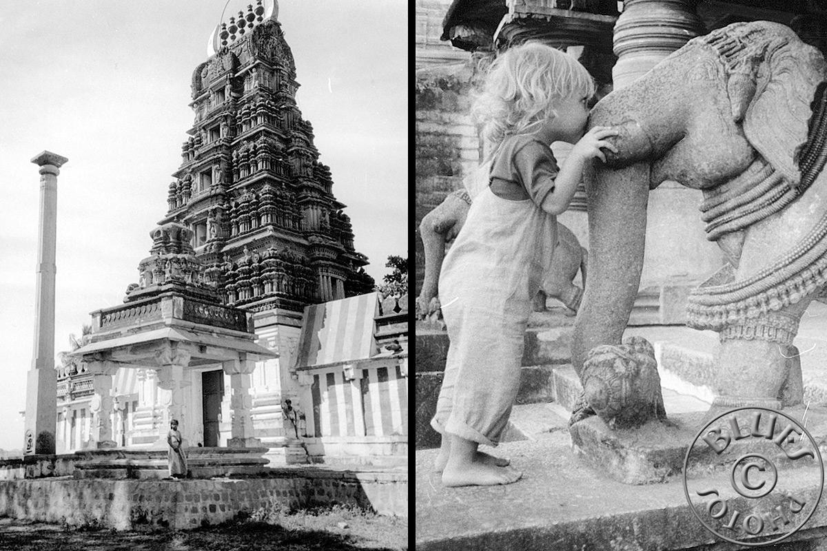 Mysore, petit temple en route