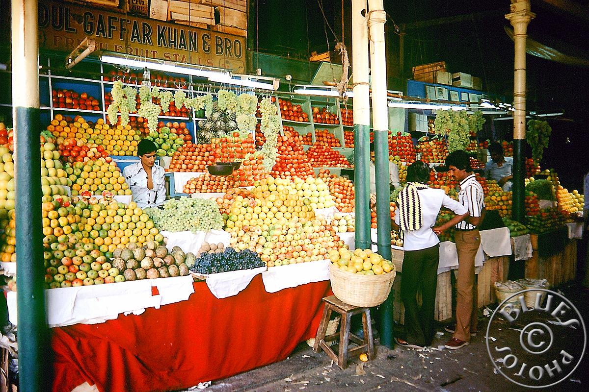 Mysore, le marché des légumes