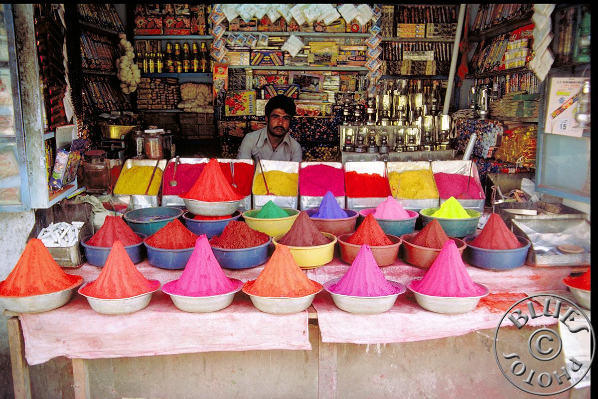 Mysore, le marché... des couleurs