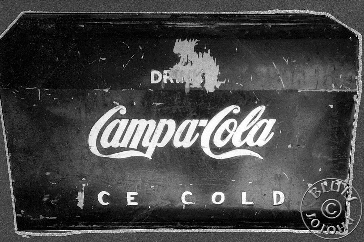 Kerala, le local Campa Cola : une copie générique du Coca