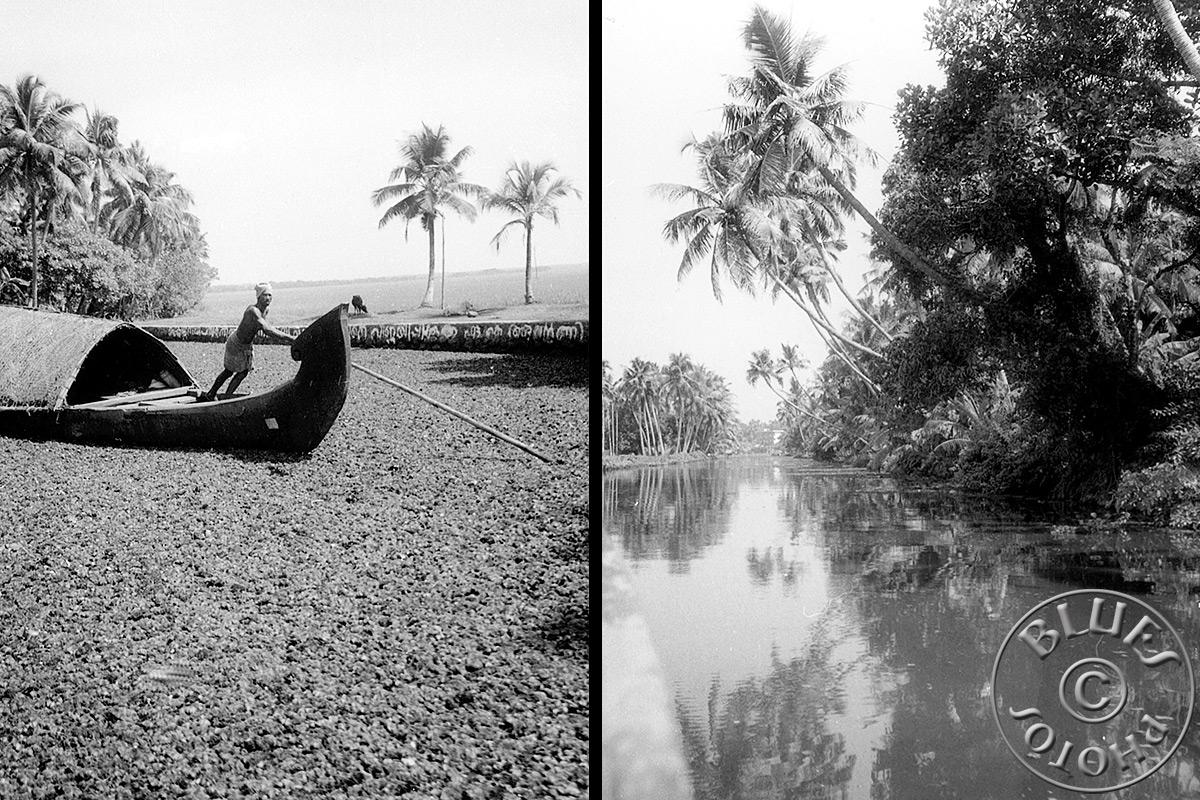 Kerala, les canaux