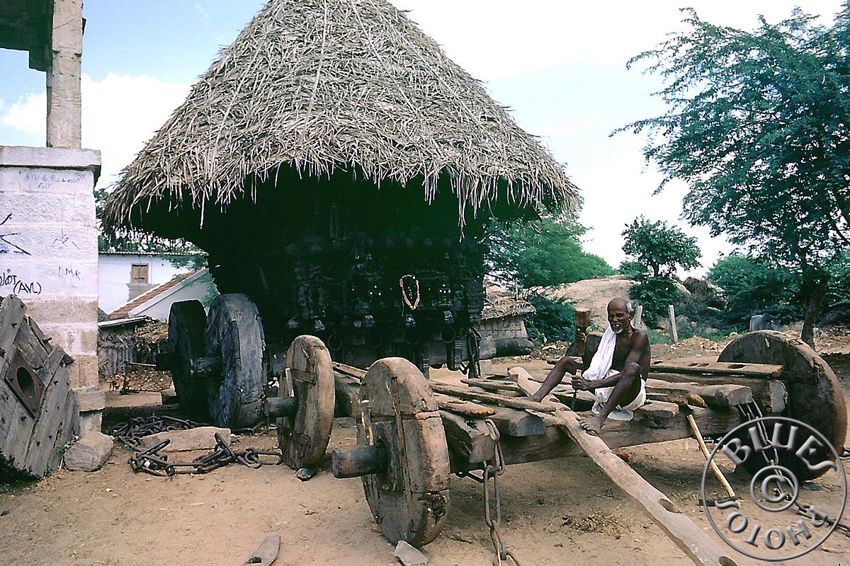 Char à Tiruchirappalli (Trichy)