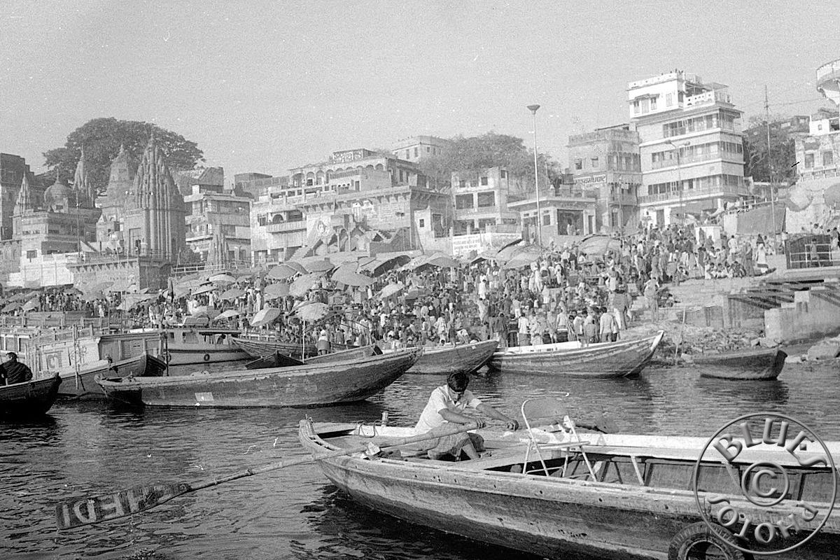 Bénarès, les ghats si typiques