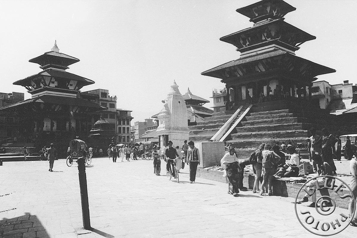 Népal, Kathmandu, Durbar-Square