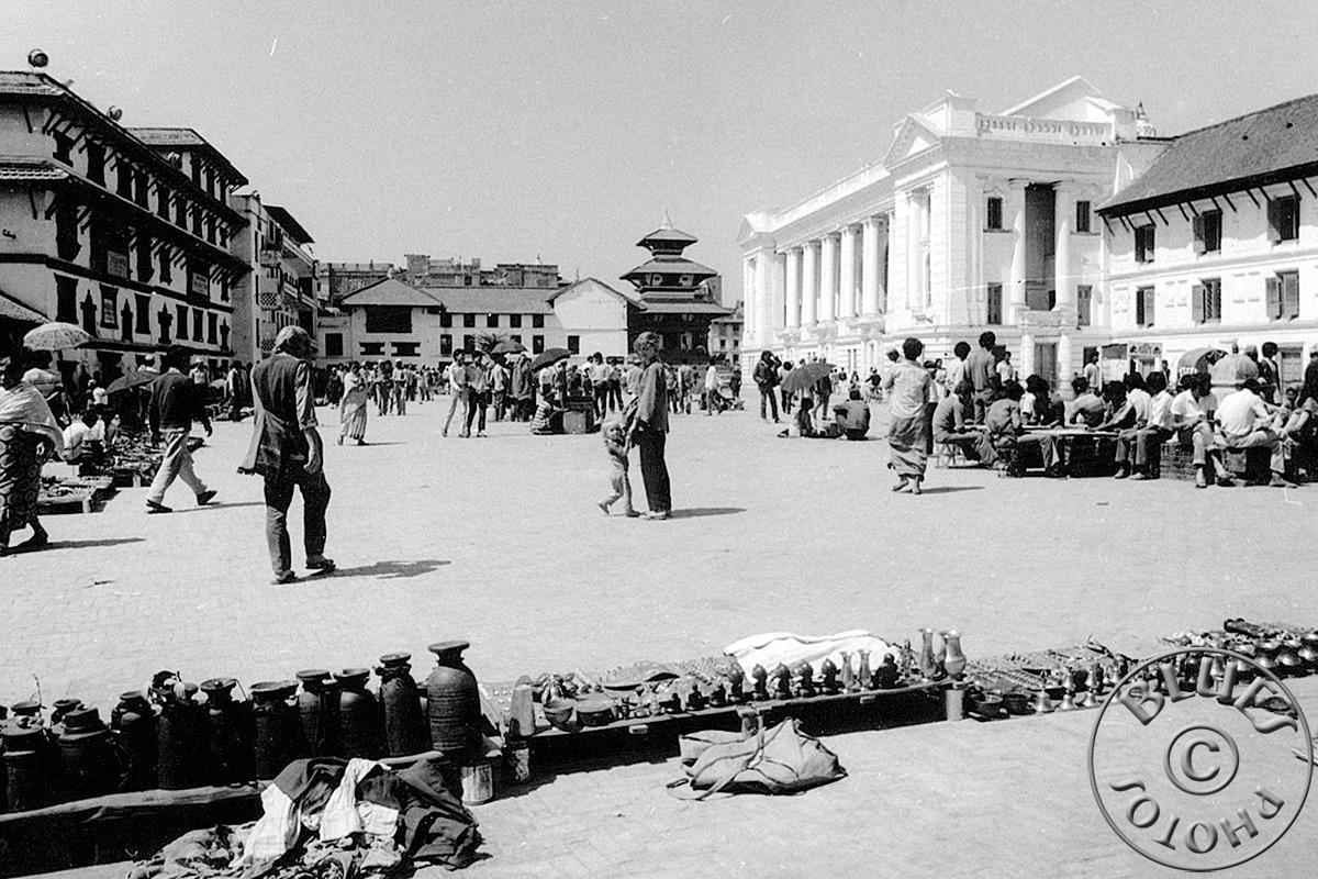Népal, Kathmandu, centre-ville