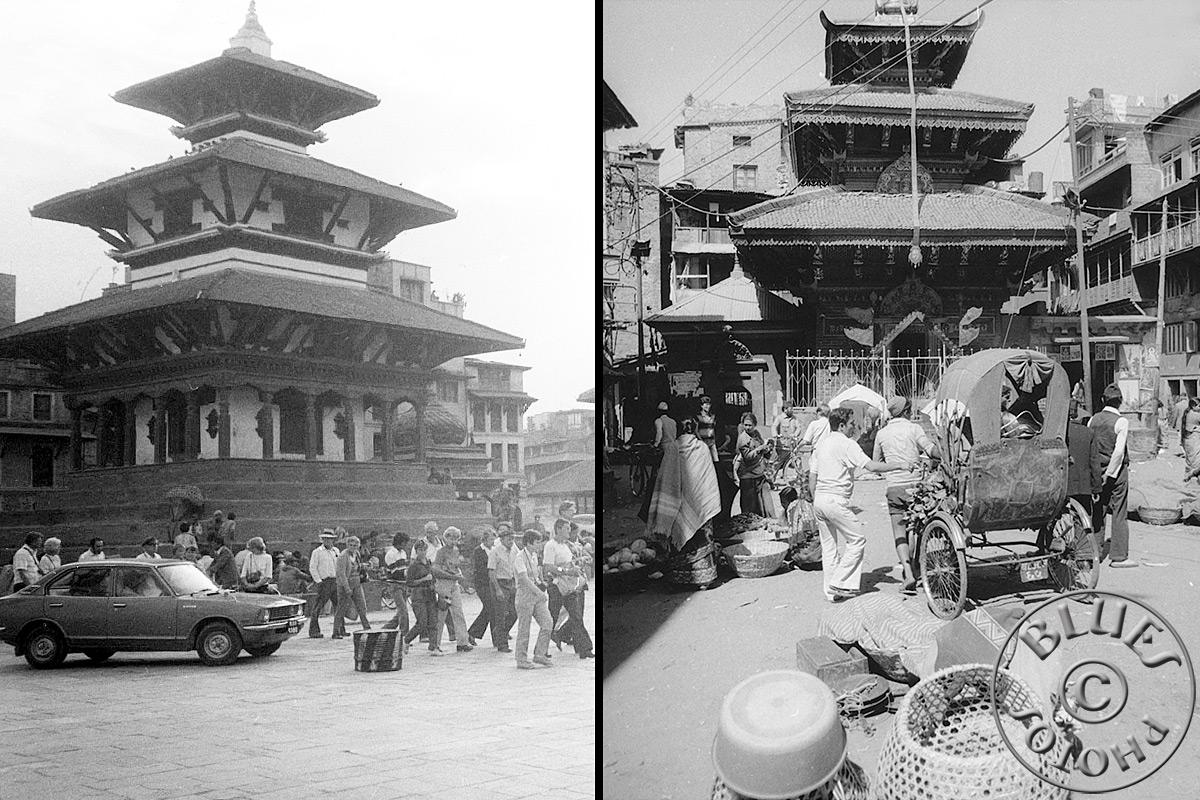 Népal, Kathmandu, en ville
