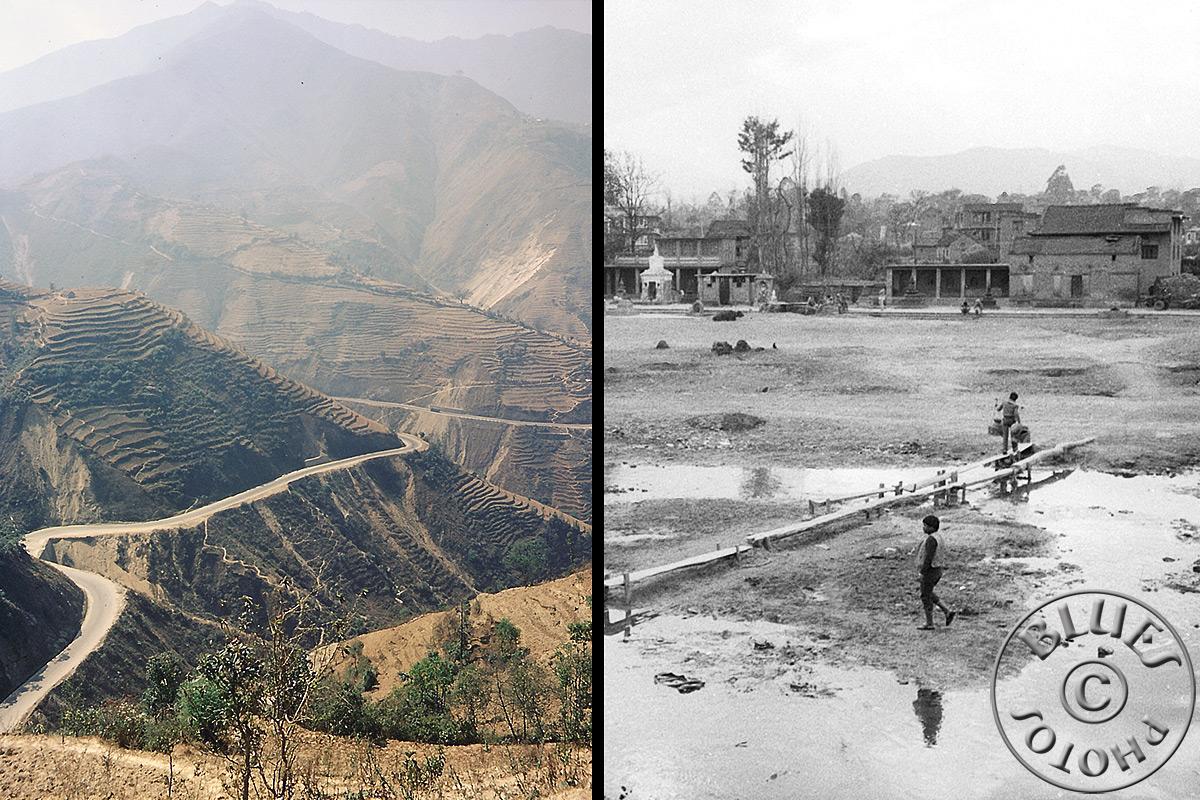 Nepal, sur la route de Pokara