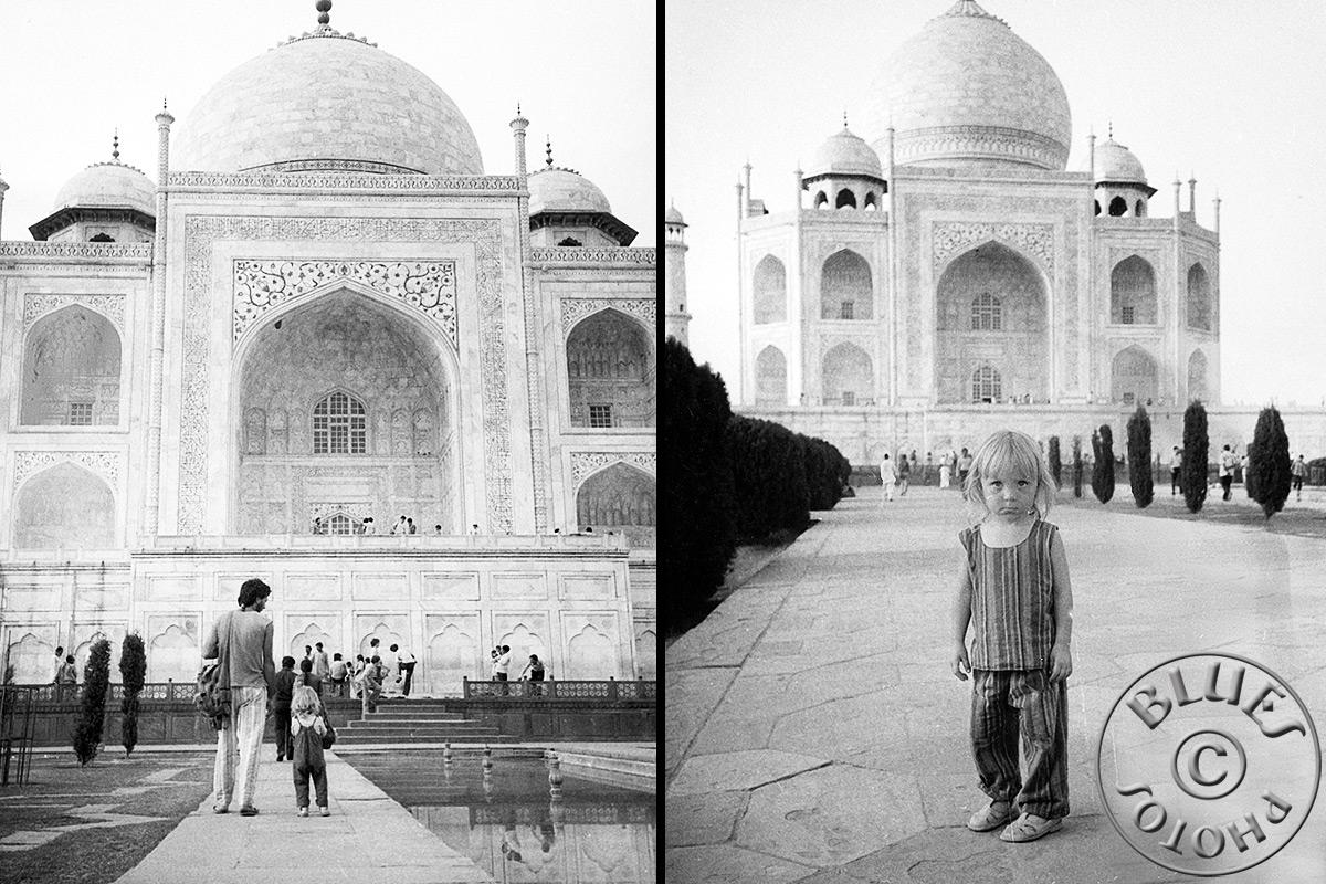 Agra, balade autour du Taj Mahal