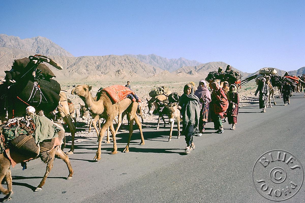 Pakistan - Baloutchistan, des nomades rencontrés sur la route